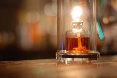 Bar candle