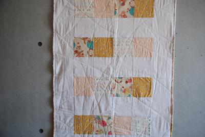 Yoshi baby quilt 1