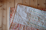 Yoshi baby quilt 3